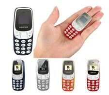 MINI TELEFONO CELLULARE TASCABILE L8STAR BM 10 DUAL SIM BLUETOOTH GSM MP3