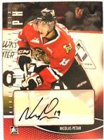2012-13 ITG Heroes & Prospects Autograph Nicolas Petan Auto Vault Version #A-NP