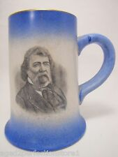 Antique 1905 F&Am Porcelain Mug 38th Anniv Masons Vaux Lodge 393 Philadelphia
