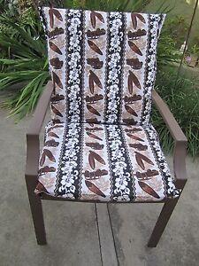 Tiki /  Woody/Surferboard Outdoor Deep Seat Cushion SLIPCOVERS