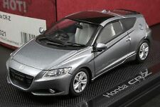 EBBRO 44321 1:43 SCALE 2010 HONDA CR-Z DIE CAST MODEL CAR (SILVER)