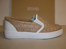 Michael Kors Size 13 Ivy Alita Camel Slip On Sneakers New Little Girls Shoes