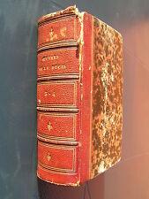 Oeuvres de J.F. DUCIS 1827 ROCQUENCOURT AMFREVILLE SOUS LES MONTS