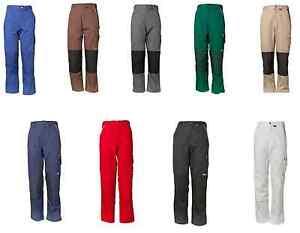 PLANAM Bundhosen CANVAS 320 Cordura Arbeitshose Berufsbekleidung viele Farben