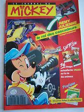 LE JOURNAL DE MICKEY N° 1952  DE 1989 . COMPLET AVEC FICHES A COLLECTIONNER .
