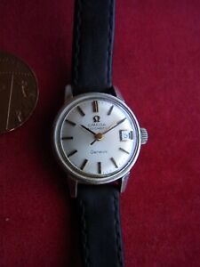 A VINTAGE OMEGA GENEVE AUTOMATIC LADIE'S WRISTWATCH. SPARES or REPAIR