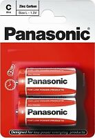 Battery R14 (C) 1.5V Panasonic Red Zinc