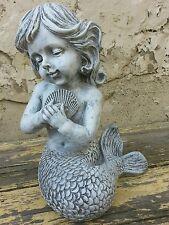Concrete Fiberglass Latex Mold Mermaid Statue