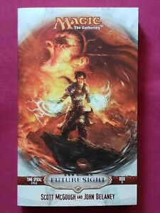 Magic The Gathering FUTURE SIGHT PAPERBACK TIME SPIRAL CYCLE BOOK 3 MTG