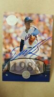 2004 DWIGHT GOODEN Auto  SP #283 UD Timeless Teams Very Short Print  !