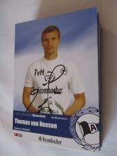 77551 Thomas von Heesen Arminia Bielefeld original signierte Autogrammkarte