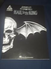 Avenged Sevenfold Hail To The King Guitar Tab Song Book