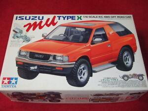Tamiya ISUZU MU TYPE-X <Original> 1/10 4WD SUV Kit CC-01 58166 Jeep Pajero NIB