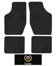 1985-1991 Cadillac DeVille Floor Mats - 4pc Cutpile 4Dr, Sedan,Fw Drive