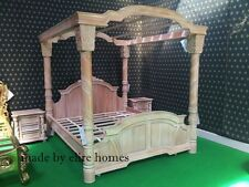 Super King BESPOKE Designer luxury Chatelet® Four Poster handcarved mahogany bed