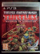 Teenage Mutant Ninja Turtles Mutantes en Manhattan PS3 Nuevo en castellano