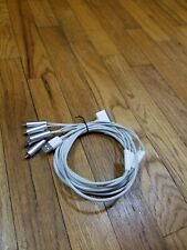 Genuine Apple 30 Pin RCA Audio Video Cable Component A/V Cable ipod