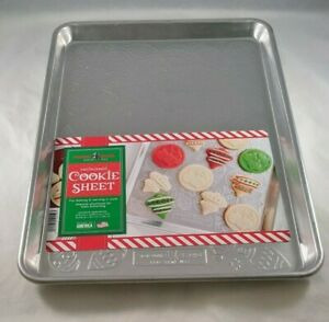 Embossed Cookie Sheet Nordic Ware Holiday Ornaments Christmas Baking Cooking New