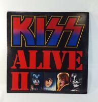 KISS ALIVE II Double LP Vinyl Records NBLP 7076 1977 Casablanca VG+/EX