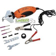 GOPART 12V Mini Chainsaw Sharpener Electric Grinder Chain Saw Grinder File Kit
