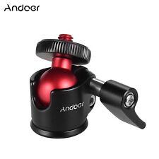 Andoer Mini Tripod Ball Head Aluminum Alloy 360° Swivel for DSLR Camera USA T2L4