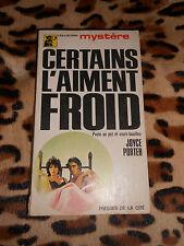 Certains l'aiment froid - Joyce Porter - Presses de la Cité, 1970