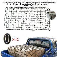 180x120CM Car Roof Luggage Net Mesh Truck Top Rack Cover Carrier Cargo w/Buckles