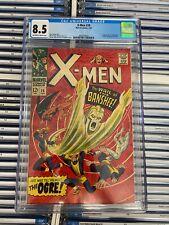 X-MEN #28 VF+ 8.5 CGC 1st BANSHEE Stan Lee
