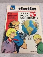 TINTIN  N°865 17e ANNEE  20 MAI 1965 REVUE MAGAZINE VINTAGE