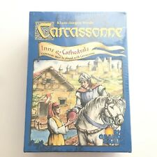 Carcassonne Inns & Cathedrals Expansion 1st Edition Factory Sealed 2002 OOP