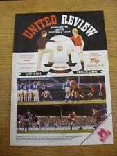17/04/1982 Manchester United v Tottenham Hotspur  (Excellent Condition)