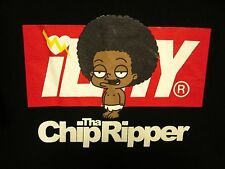CHIP THA RIPPER beat-up lrg T shirt ILTHY limited edition rap tee Cleveland Show