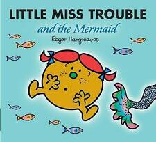 NEW sparkly LITTLE MISS TROUBLE and the MERMAID ( BUY 5 GET 1 FREE book ) Mr Men