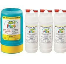 frog mineral cartridge above ground pool. 3 bac packs