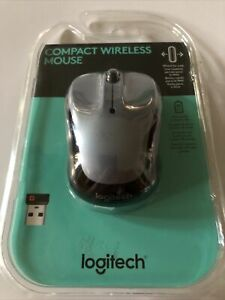 Logitech Compact Wireless Mouse M325 Grey Web Wheel NIB