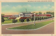 Handley High School in Winchester VA Postcard