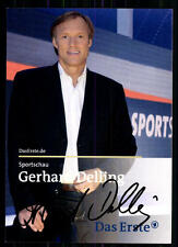 Gerhard Delling Sportschau Autogrammkarte Original Signiert ## BC 7621