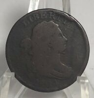 1804 Draped Bust Half Cent Crosslet 4, Stems Coin-Exquisite! 1M :)