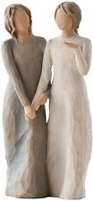 Walk With Me Sisters Figurative Sculpture, Home Decor Accent Resin Carve New