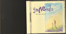 GENESIS We Can't Dance 12 track CD 16 page LYRICS Booklet Phil Collins