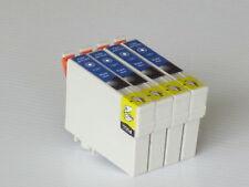 4pk Non-OEM black ink cartridges for T126 T1261 black fits Epson520/630/635/840