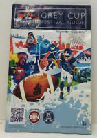100th GREY CUP 2012 Toronto CFL Fottbal Festival Book RARE