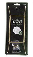Tri-Par Intl 23-1310 Plate Hanger, Brass Wire, 10 To 14-In.