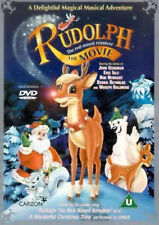 RUDOLPH THE RED NOSED REINDEER THE MOVIE DVD John Goodman UK Rele New Sealed R2