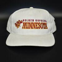 Minnesota Golden Gophers Twins Enterprise Vintage 90's Strapback Cap Hat - NWT