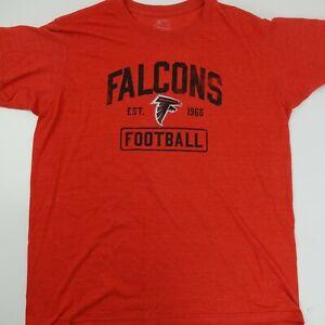 Atlanta Falcons Freeman #24 Football est 1966 Fanatics Men's T-Shirt Size XL Red