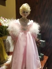 Mary Kay porcelain 1980s doll in box.