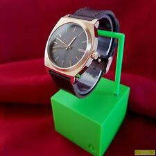 "Nixon ""The Time Teller"" (Copper) 100M 3-Hand Japan Movement & Horween Band [15E]"