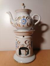 Tisanière ancienne porcelaine Paris XIX 19 siècle ceramique française