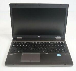 """HP ProBook 6560b 15.6"""" Intel i5-2410M 2.3GHz 4GB DDR3 WIN7COA Fair No HDD BATT"""